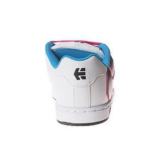 buty damskie ETNIES - FADER (WHITE/PINK/BLUE) 09'