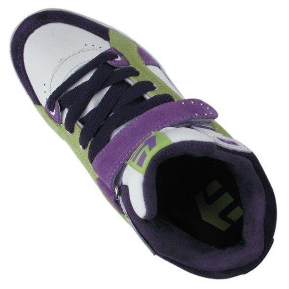 buty damskie ETNIES - LENNY HIGH (PURPLE/WHITE)