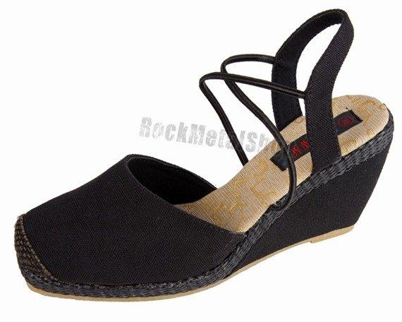buty damskie NEW AGE - BLACK