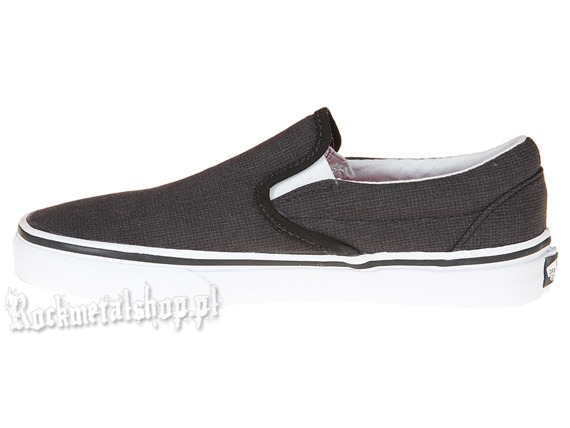 buty damskie VANS  - CLASSIC SLIP-ON (BLACK/TRUE WHITE)