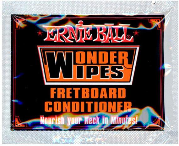 chusteczka do podstrunnicy ERNIE BALL WONDER WIPES EB4247