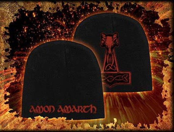 czapka AMON AMARTH - HAMMER, zimowa