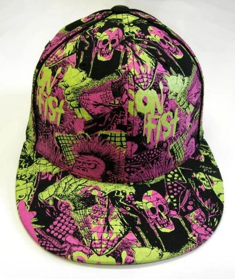 czapka IRON FIST -  OMFUNG FLATBIL