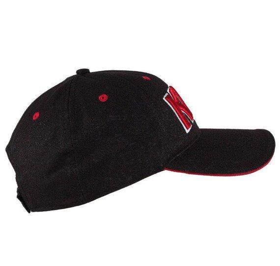 czapka KISS - RED ON WHITE LOGO