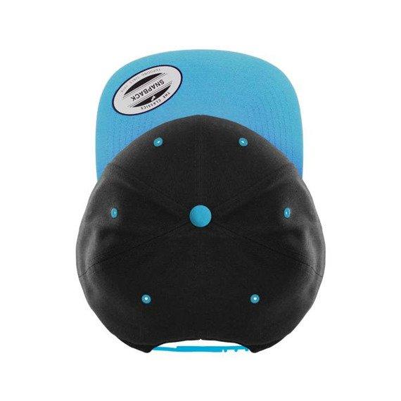 czapka MASTERDIS - BASEBALL CAP FLEXFIT SNAPBACK black/teal