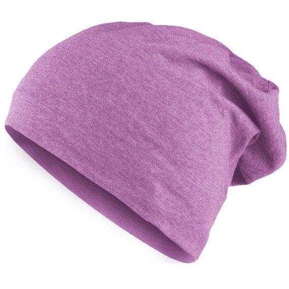czapka MASTERDIS - HEATHER JERSEY BEANIE purple