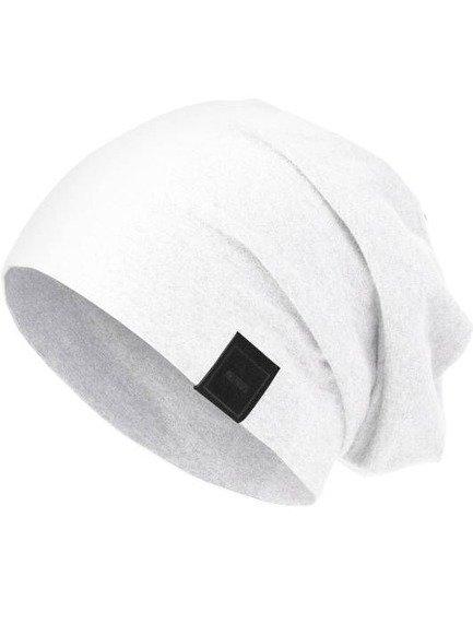 czapka MASTERDIS -  MSTRDS JERSEY BEANIE white