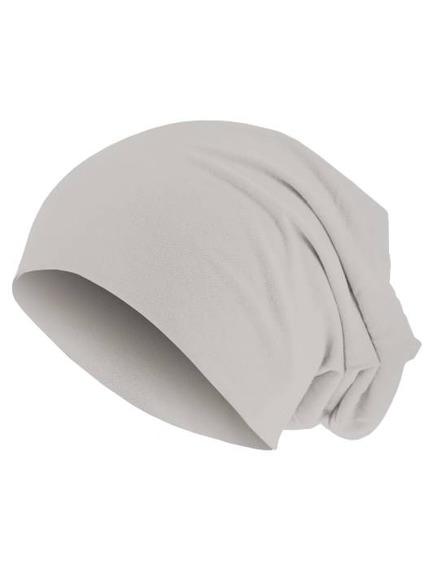 czapka MASTERDIS - PASTEL JERSEY BEANIE stone
