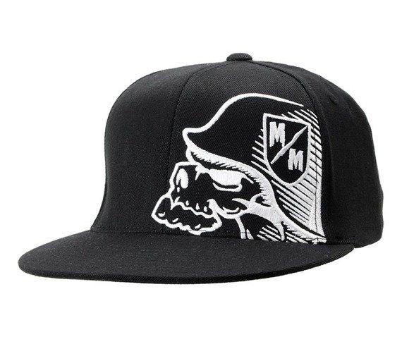 czapka METAL MULISHA - BLAZE white/black