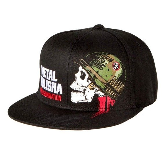 czapka METAL MULISHA - FULL METAL 2 black