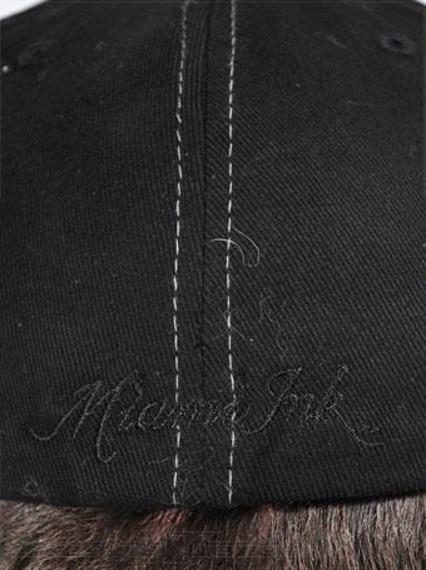 czapka MIAMI INK - WIDE BILL SKULL FLYING BIRD