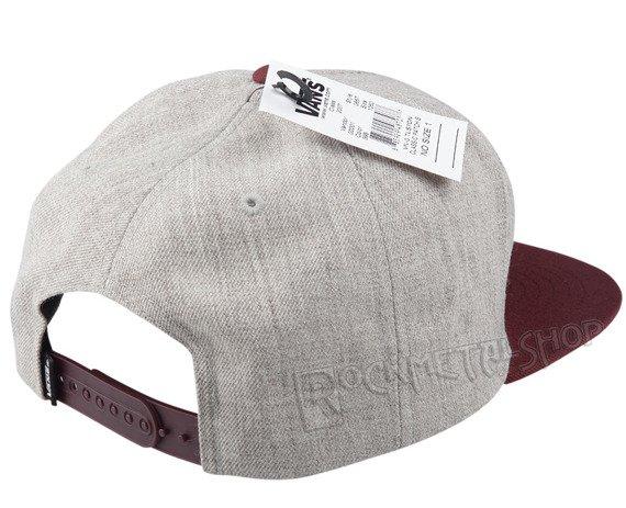 czapka VANS - CLASSIC PATCH HEATHER GREY