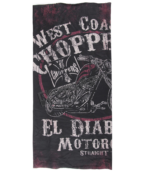 czapka/szalik WEST COAST CHOPPERS - EL DIABLO