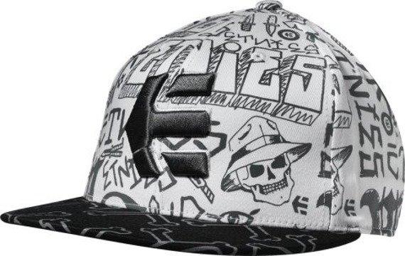 czapka z daszkiem ETNIES - CHOLLO (WHITE) 09'