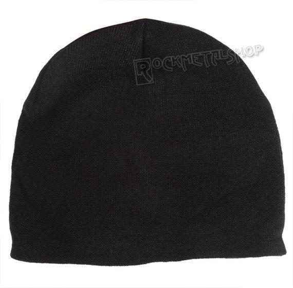 czapka zimowa BATMAN - LOGO CLASSIC YELLOW czarna