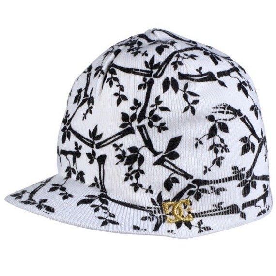 czapka zimowa DC- Extension (WHITE)