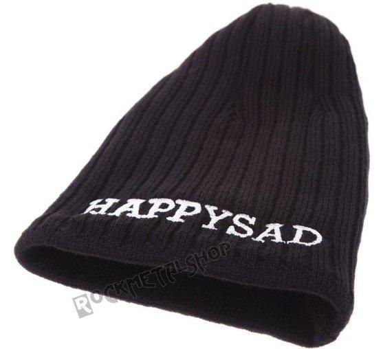 czapka zimowa HAPPYSAD - CIEPŁO/ZIMNO logo