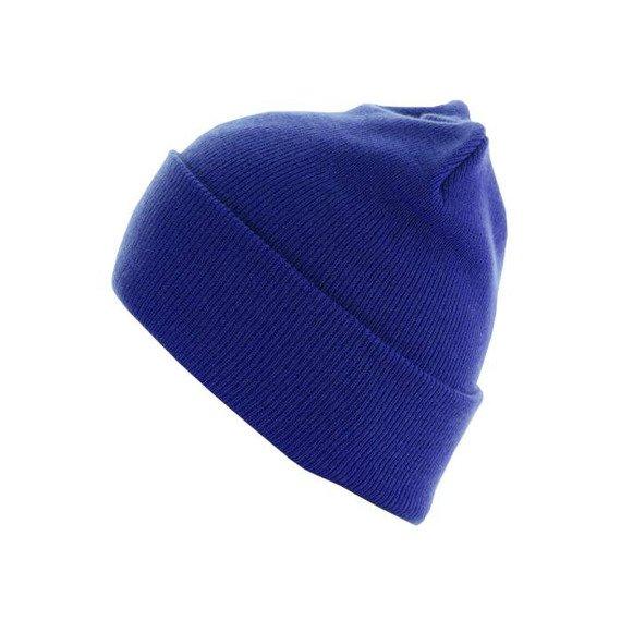 czapka zimowa MASTERDIS - BEANIE BASIC FLAP LONG royal
