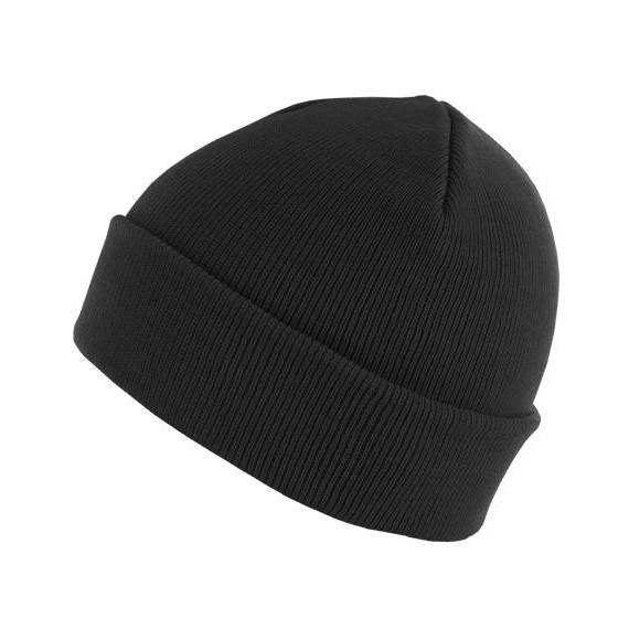 czapka zimowa MASTERDIS - BEANIE BASIC FLAP black