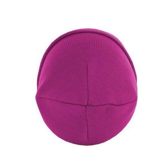 czapka zimowa MASTERDIS - BEANIE BASIC FLAP magenta