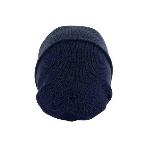 czapka zimowa MASTERDIS - BEANIE BASIC FLAP navy