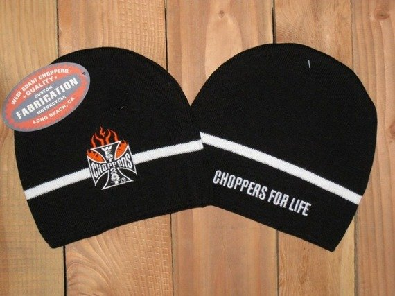 czapka zimowa WEST COAST CHOPPERS - IRON FLAMED