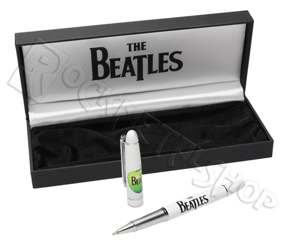 długopis w etui THE BEATLES - GIFT SET biały