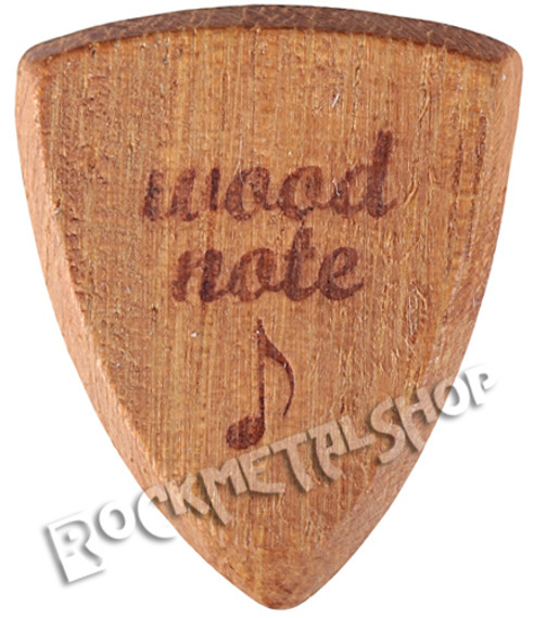 drewniana kostka do gitary WOODNOTE Bull Shield - IROKO