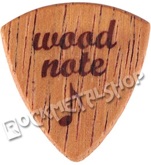 drewniana kostka do gitary WOODNOTE Jazz Shield - MERBAU