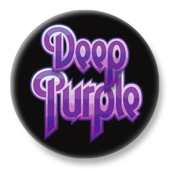 duży kapsel DEEP PURPLE - LOGO