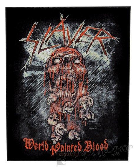 ekran SLAYER - WORLD PAINTED BLOOD