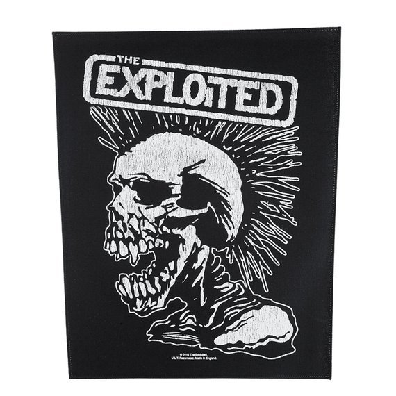ekran THE EXPLOITED - SKULL