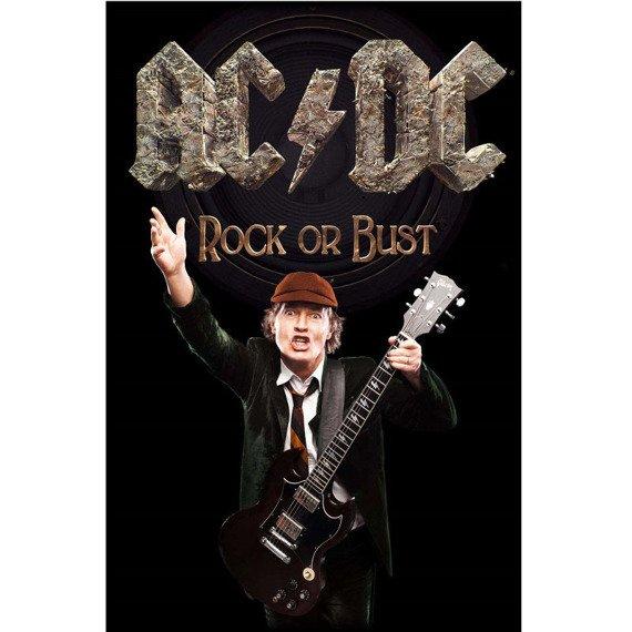 flaga AC/DC - ROCK OR BUST / ANGUS