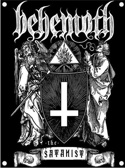 flaga BEHEMOTH - THE SATANIST