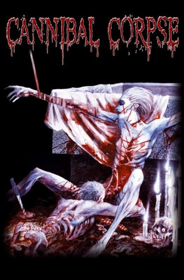 flaga CANNIBAL CORPSE - TOMB OF THE MUTILATED