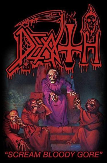 flaga DEATH - SCREAM BLOODY GORE