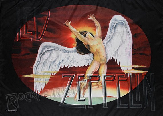 flaga LED ZEPPELIN