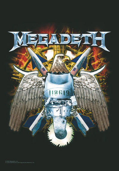 flaga MEGADETH - EAGLE