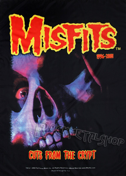 flaga MISFITS  - CUTS FROM THE CRYPT