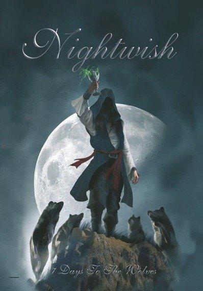flaga NIGHTWISH - 7 DAYS TO THE WOLVES