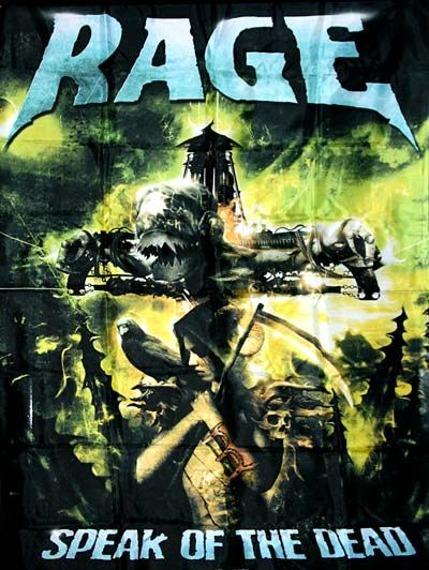 flaga RAGE - SPEAK OF THE DEAD