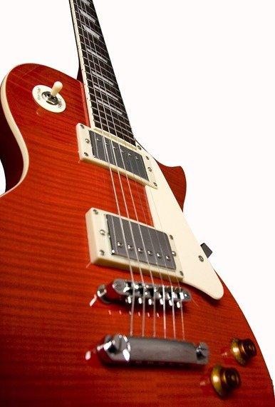gitara elektryczna JAY TURSER JT-220D-TR Flame Maple