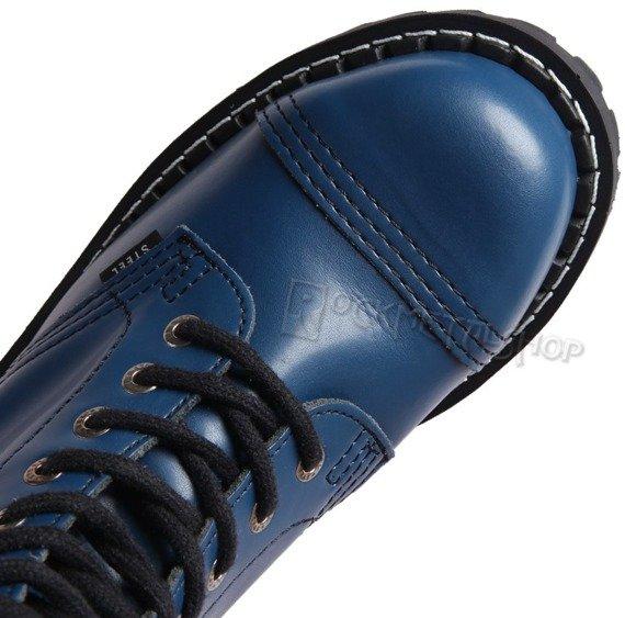 glany STEEL - FULL BLUE (10 dziurek)