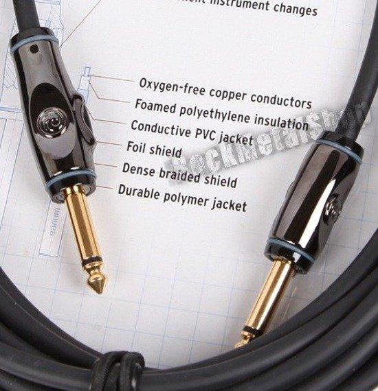 kabel gitarowy 3,05m PLANET WAVES CIRCUIT BREAKER jack prosty/prosty (PW-AG-10)