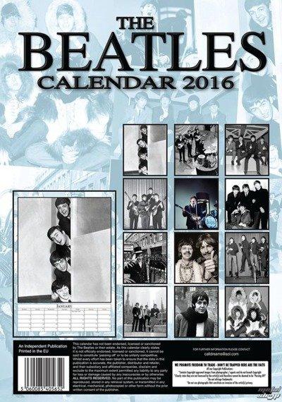 kalendarz THE BEATLES 2016