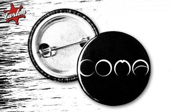 kapsel COMA - LOGO czarno-biały