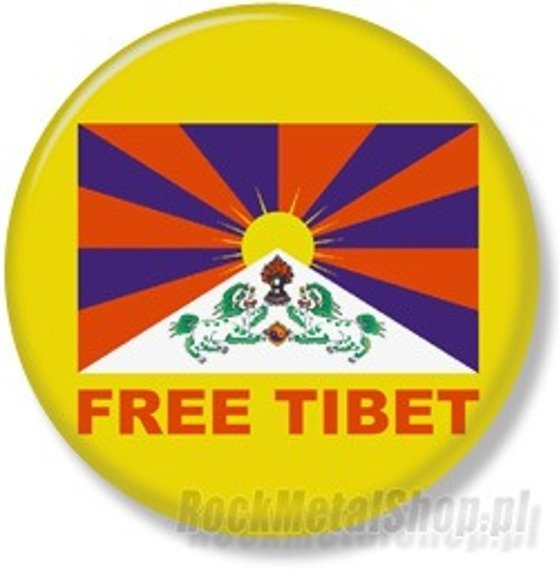 kapsel FREE TIBET średni