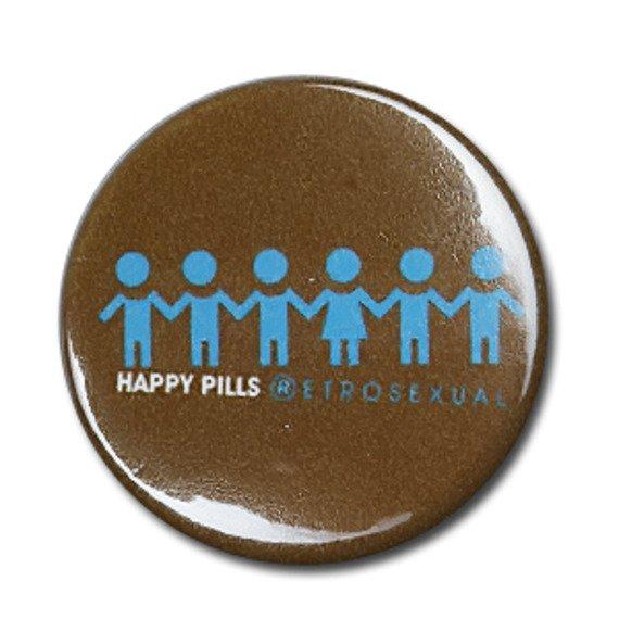 kapsel HAPPY PILS - RETROSEXUAL brown