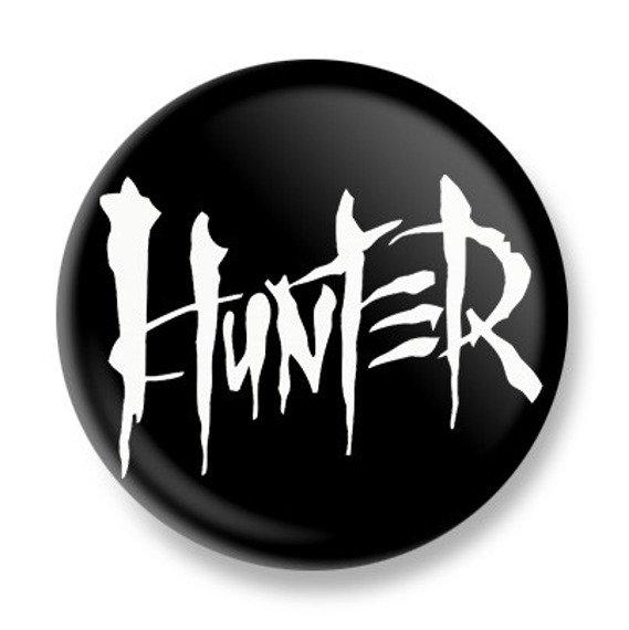 kapsel HUNTER - LOGO white