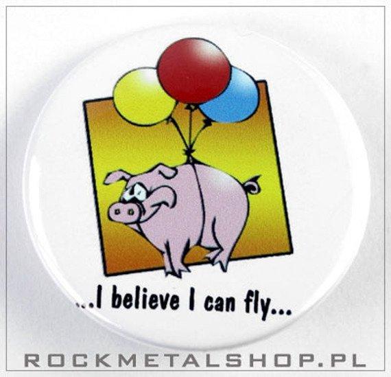 kapsel I BELIEVE I CAN FLY średni